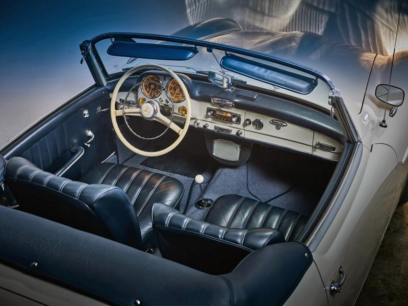 Mercedes 190 SL PhaseOne Paul Delaet
