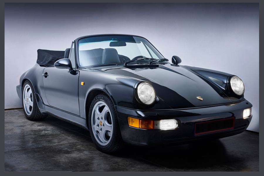 Porche 911-964  Phase One Fotografie Paul Delaet