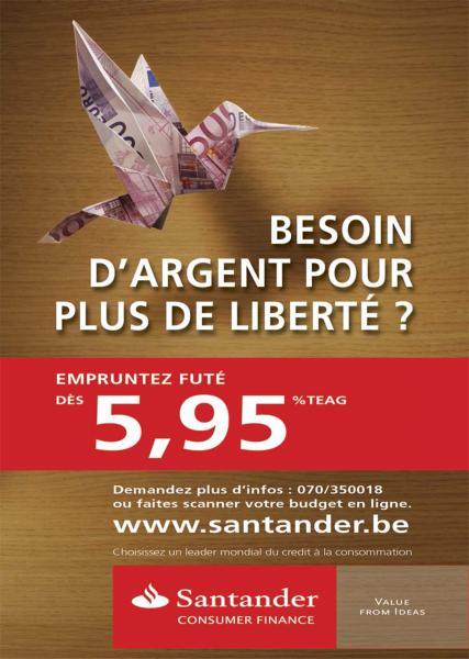 Santander Bank /AD Marc Kockelkorn /Reclame Fotografie  /topfotografie